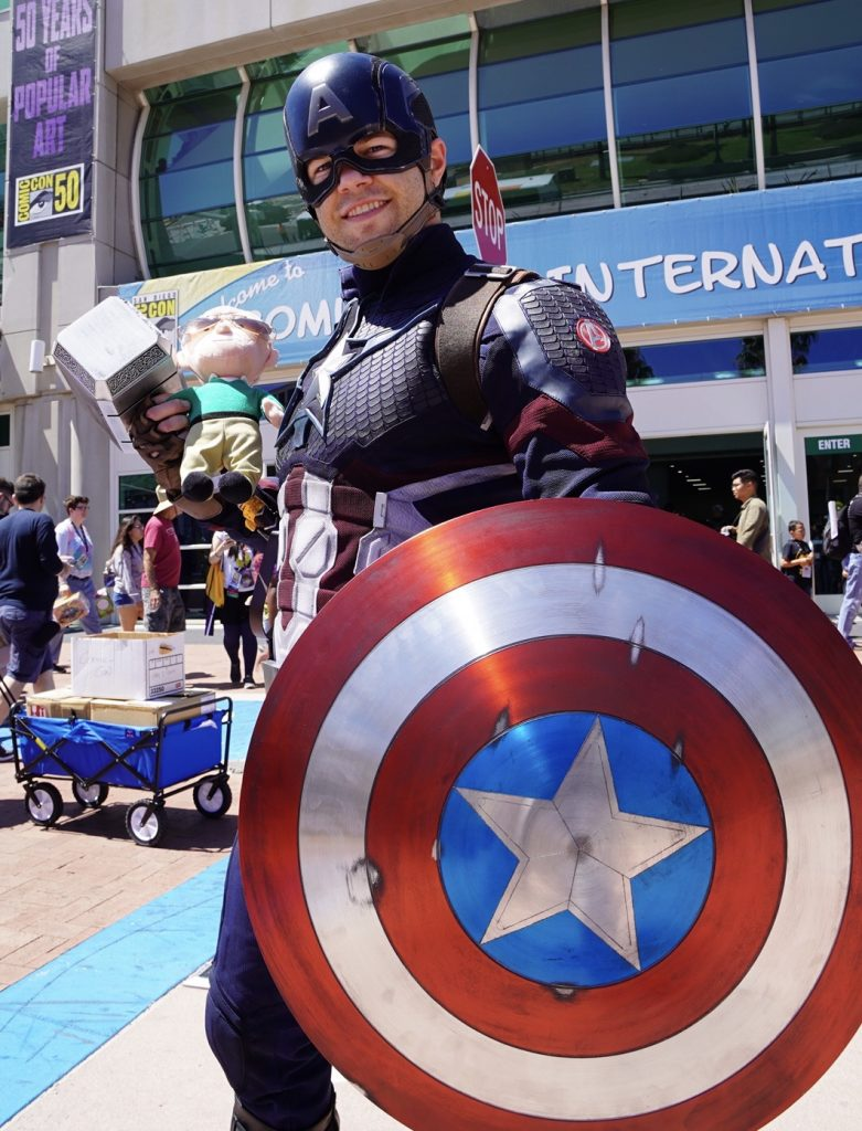The Little Stan Lee Plush Takes on SDCC: Day 3 - The Real Stan Lee