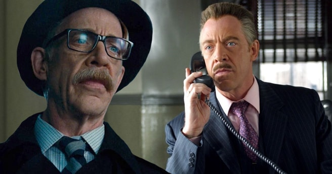 J.K. Simmons in Justice League and the Spider-Man movies