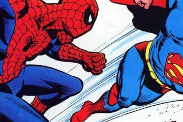 Spider Man and Superman Marvel fights DC
