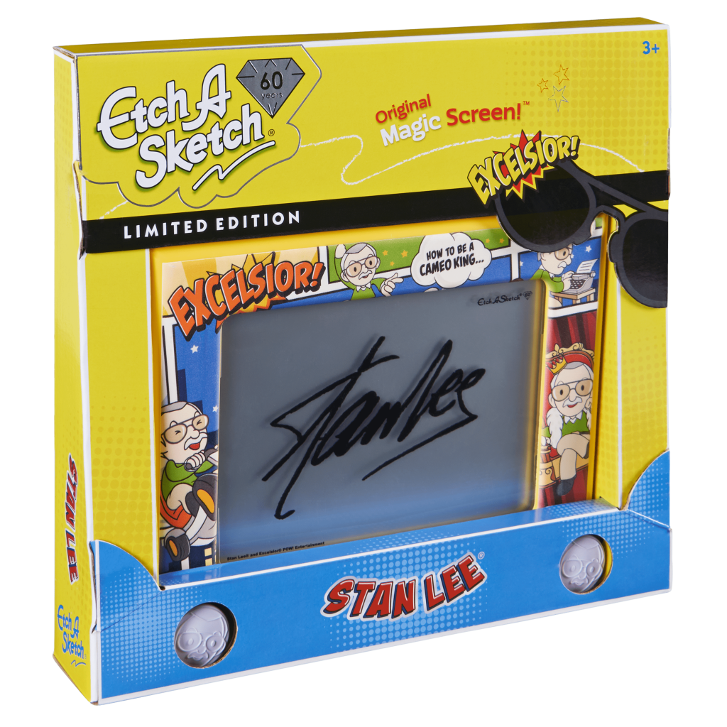 Behind The Scenes With The Stan Lee Etch A Sketch Designers The Real Stan Lee