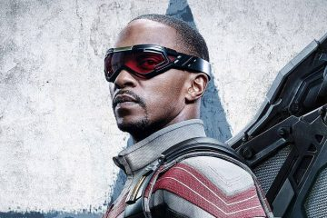 Anthony Mackie poses as Sam Wilson in The Falcon and the Winter Soldier