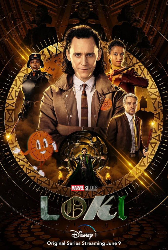 Poster for upcoming Disney+ show Loki