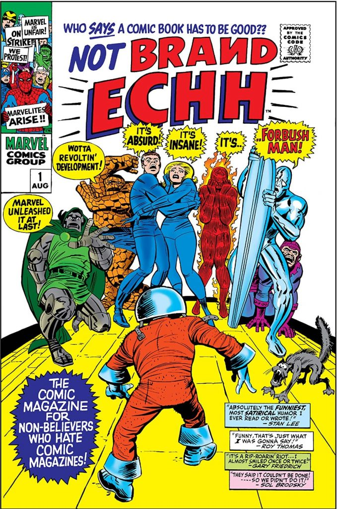 Cover of Marvel Comics Not Brand Echh