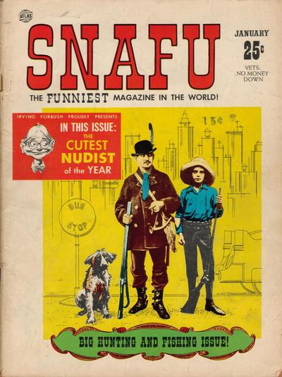 Cover of Snafu from Marvel comics